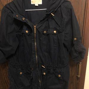 Blue Michael Kors jacket
